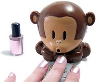 Must have GIZMOS: Monkey Nail Dryer :  stuff dryer gifts nail dryer