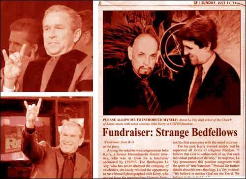 احمدی نژاد و شیطان پرستی