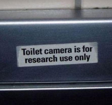 Toiletcamera